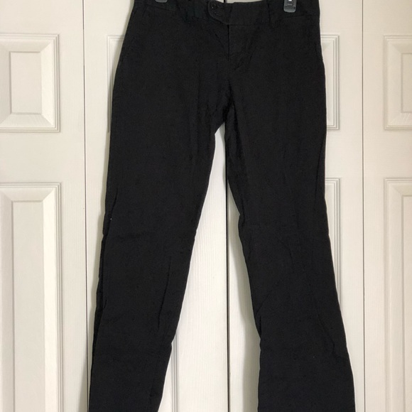 American Eagle Outfitters Pants - Black Pinstriped Bootcut Pants